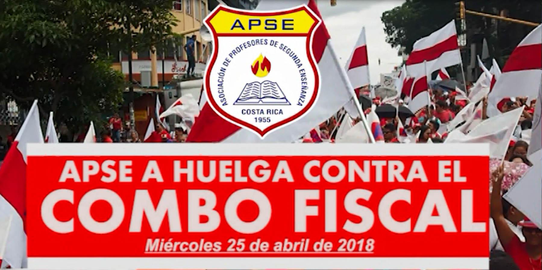 APSE A HUELGA CONTRA EL COMBO FISCAL