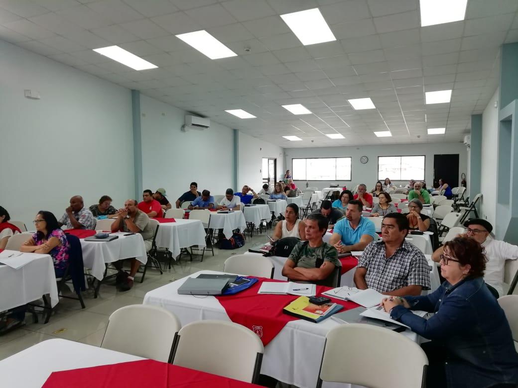 ESCUELA SINDICAL DE APSE INICIÓ CURSO LECTIVO 2019