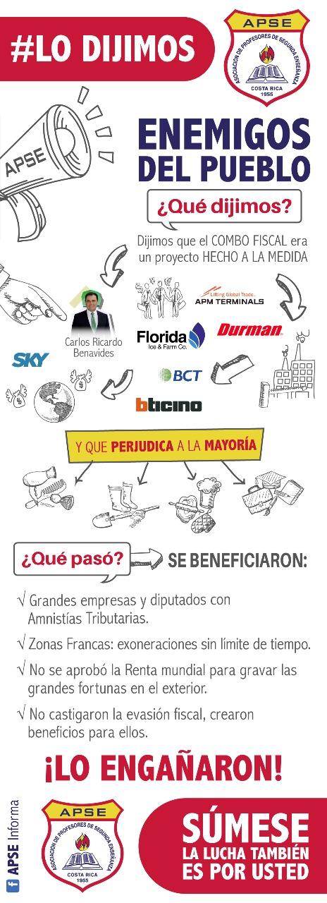 APSE INICIA CAMPAÑA #LODIJIMOS: ENEMIGOS DEL PUEBLO