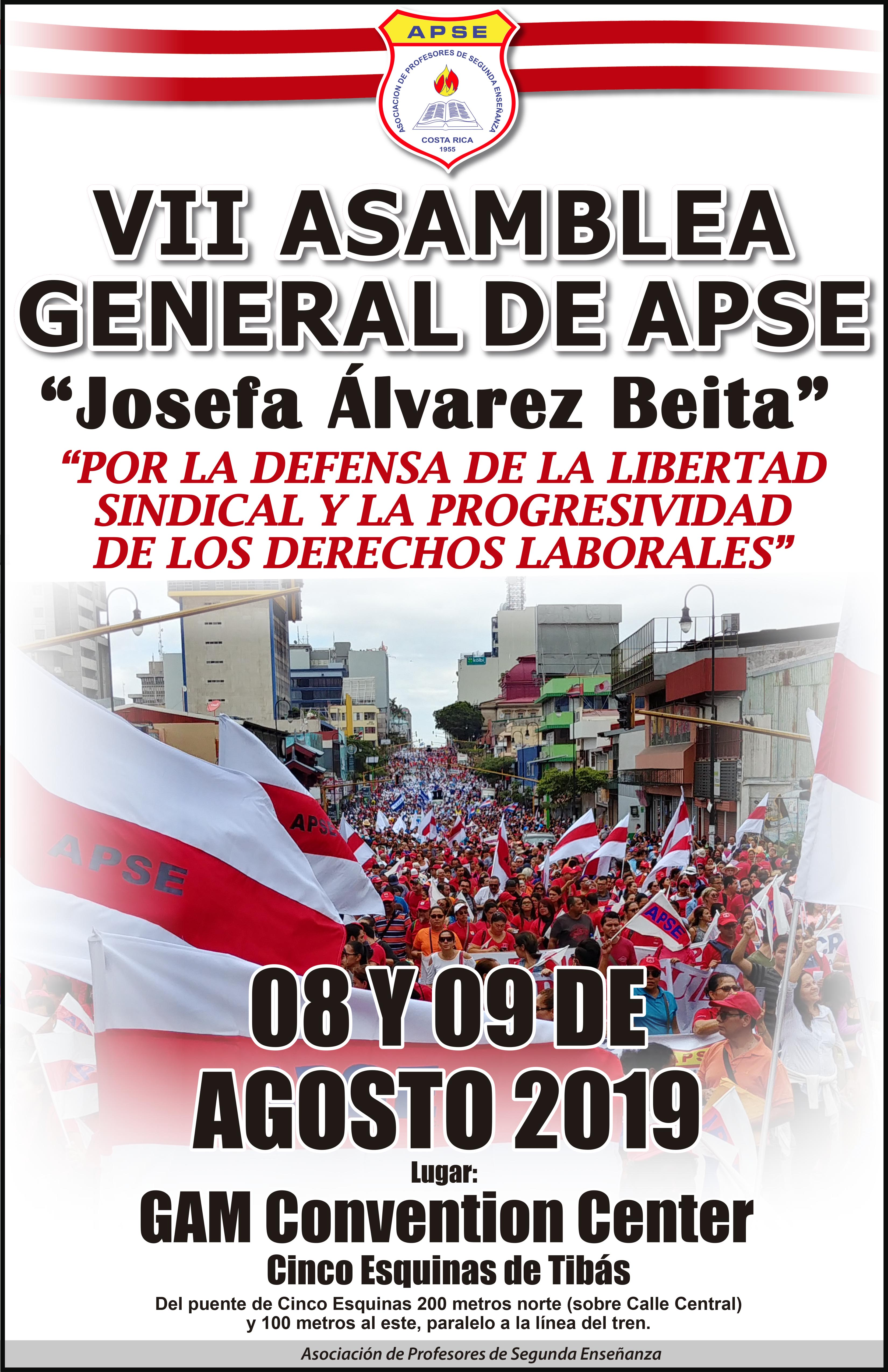 VII ASAMBLEA GENERAL DE APSE