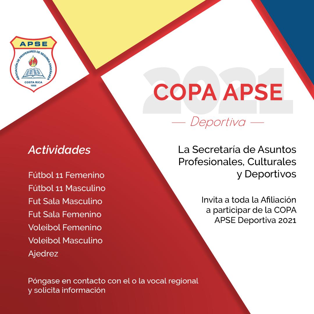 Copa APSE Deportiva 2021